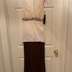 NWT Karen Kane Top and Cropped Wide Leg Pant